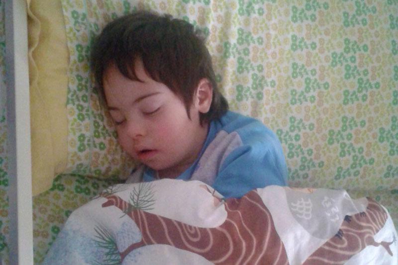 Chicco dorme