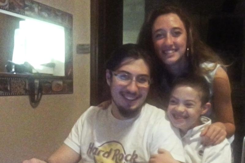 Tommaso, Stefano e Caterina